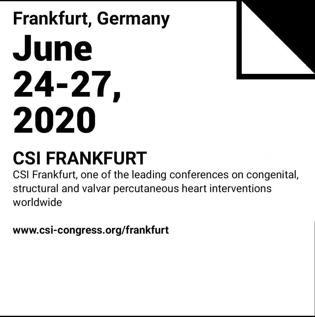 CSI - Frankfurt - immr